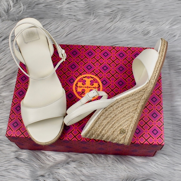 b36722757 (Tory Burch) Landon White Wedge Espadrille